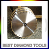 400mm Diamond Marble Stone Edge Cutting Blade For Bridge Cutting Machine with 60/50 Bore