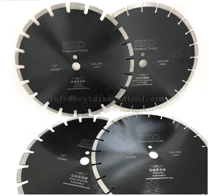 Reinforced Concrete Cutting Blade 14 Inch 350mm