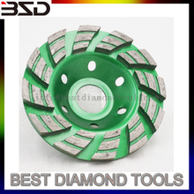 Cold Press Granite Diamond Grinding Cup Wheel