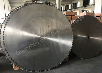 600mm 800mm 1000mmm 1200mm Wall Saw Blade For Interior Demolition, pluming ,electrical expansion