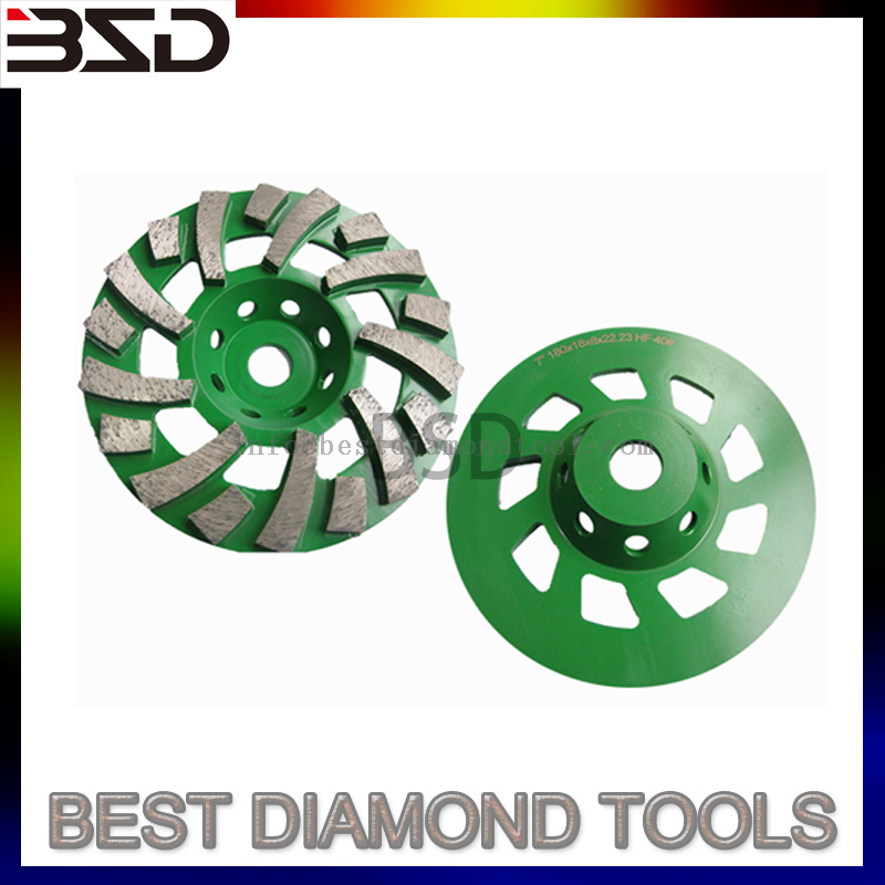 diamond grinding cup wheel disc for concrete sat