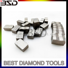 24*9.8/9.2*15/14 diamond segment for Volcanic stone cutting
