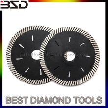 Diamond Porcelain Saw Blade Diameter 4.5 inch with Turbo Rim Segment Cutting Disc for granite marble tile ceramic brick