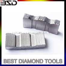 Construction tool parts diamond segment for reinforced concrete