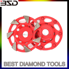 grinding and buffering diamond cup wheels