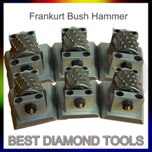Diamond Bush Hammer Plate Tool