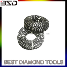 Sintered Beads Cutting Rope Diamond Wire Saw for Concrete Stone