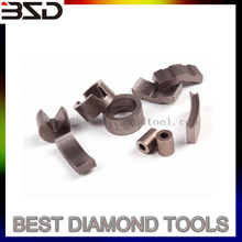 Roof Shape Segment for Diamond Tools Core Drill Bit