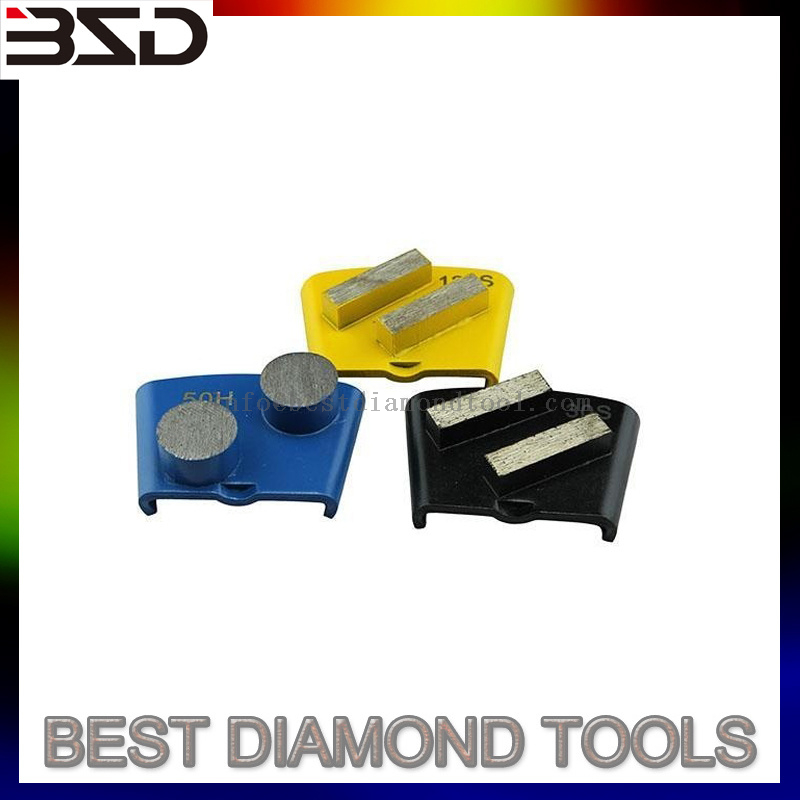 "Diamond Grinding Tools 3"" Round Edge 10 Segments Diamond Concrete Diamond Tooling"