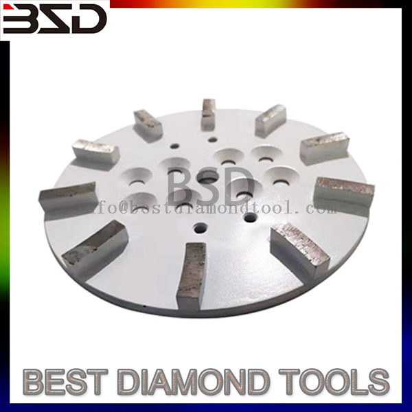 10 Inch Ceramic Abrasive Stone Diamond Grinding Cup Wheel Grinding Head