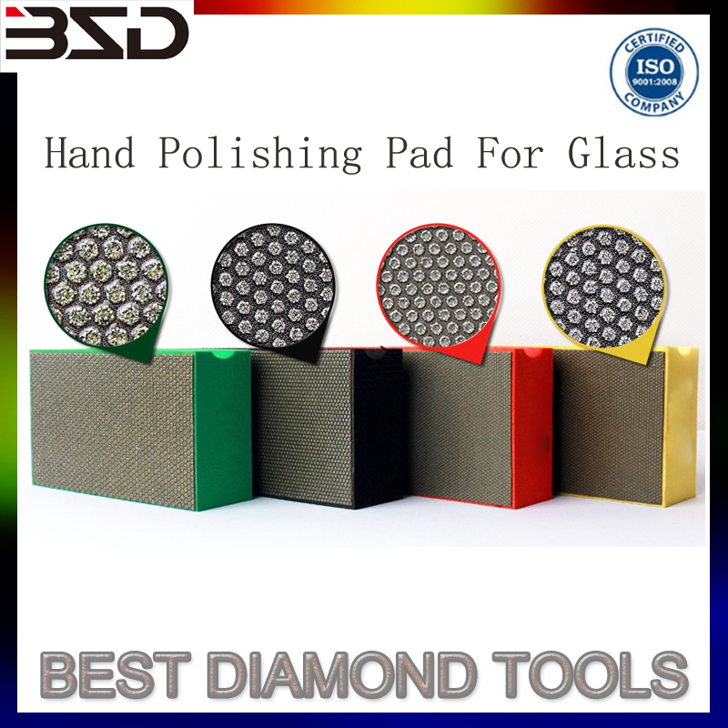 Foam Sponge Hand Polishing Pad For Granite Marble Terrazo Ceramic Glass Tiles