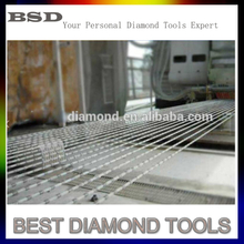 Diamond Multi Wire saw 7.3mm / 6.2mm Granite Cutting Tools